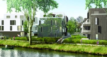 Strasbourg programme immobilier neuf « Les jardins d'O » en Loi Pinel
