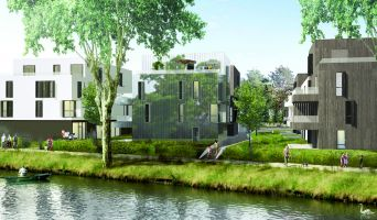 Strasbourg : programme immobilier neuf « Les jardins d'O » en Loi Pinel