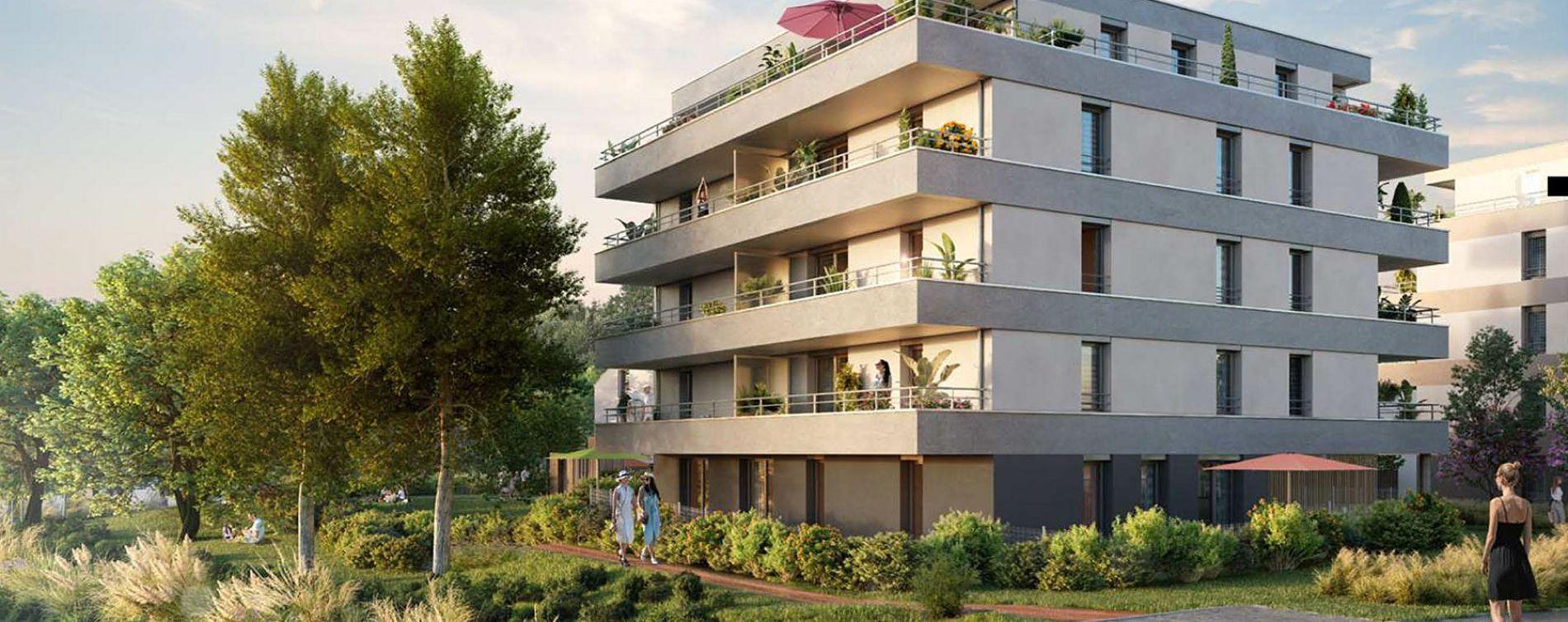 Strasbourg : programme immobilier neuve « Les Moulins Becker » en Loi Pinel (2)
