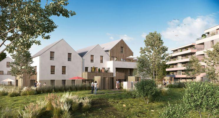 Strasbourg : programme immobilier neuf « Les Moulins Becker » en Loi Pinel