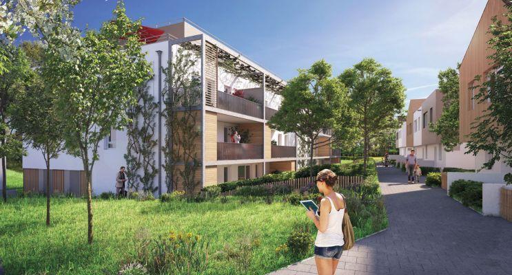 Résidence « Les Muses » programme immobilier neuf en Loi Pinel à Strasbourg n°1