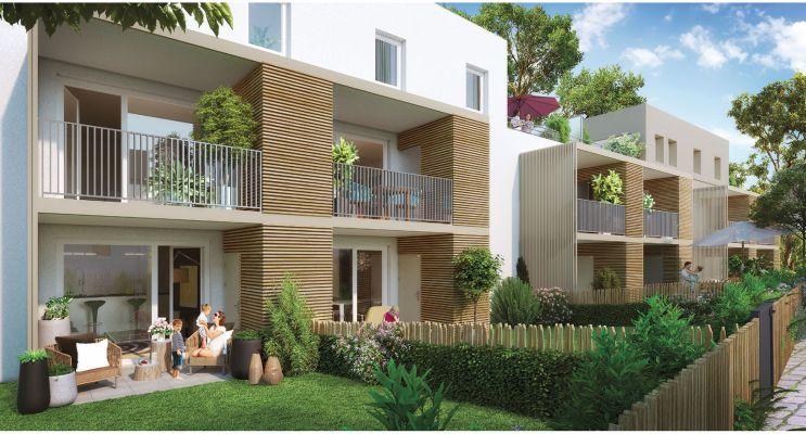 Résidence « Les Muses » programme immobilier neuf en Loi Pinel à Strasbourg n°2