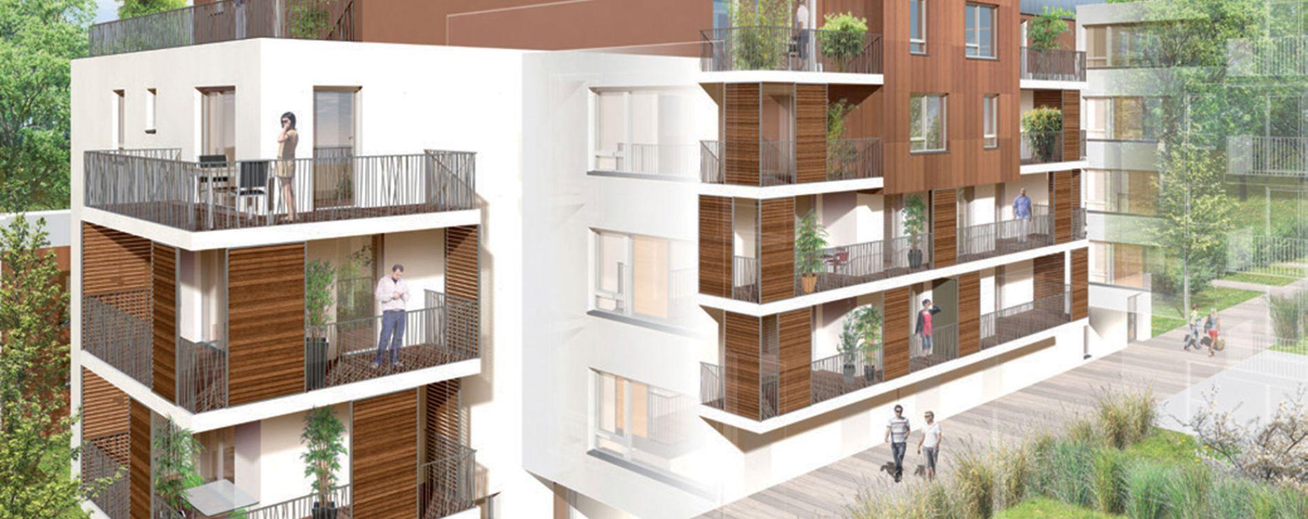 Strasbourg : programme immobilier neuve « Les Terrasses du Lac »