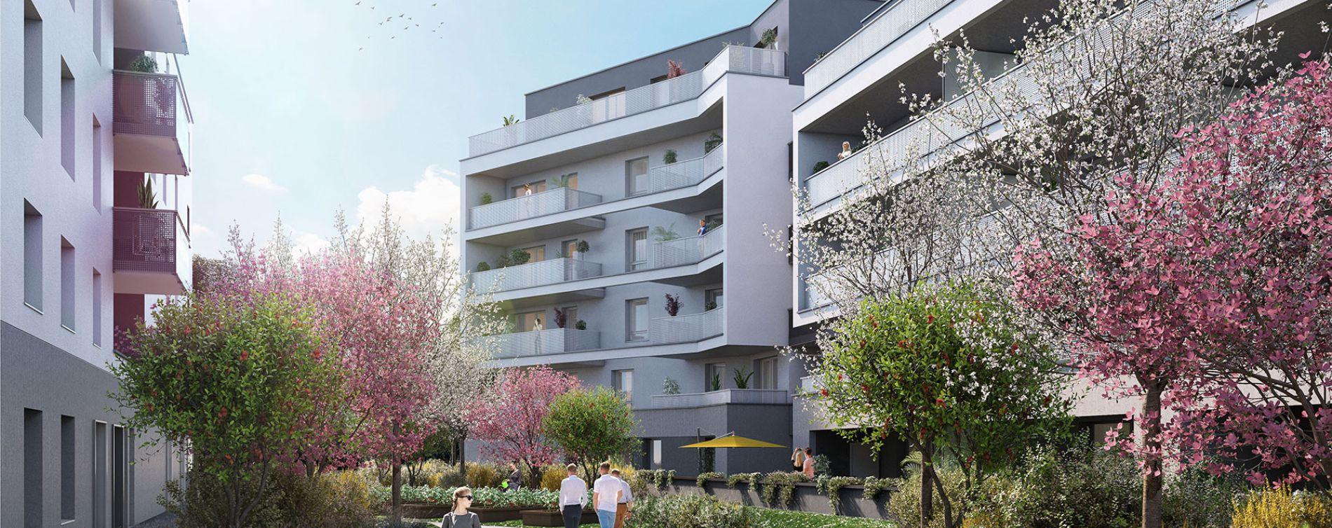 Strasbourg : programme immobilier neuve « L'Inattendu 2 » en Loi Pinel (3)