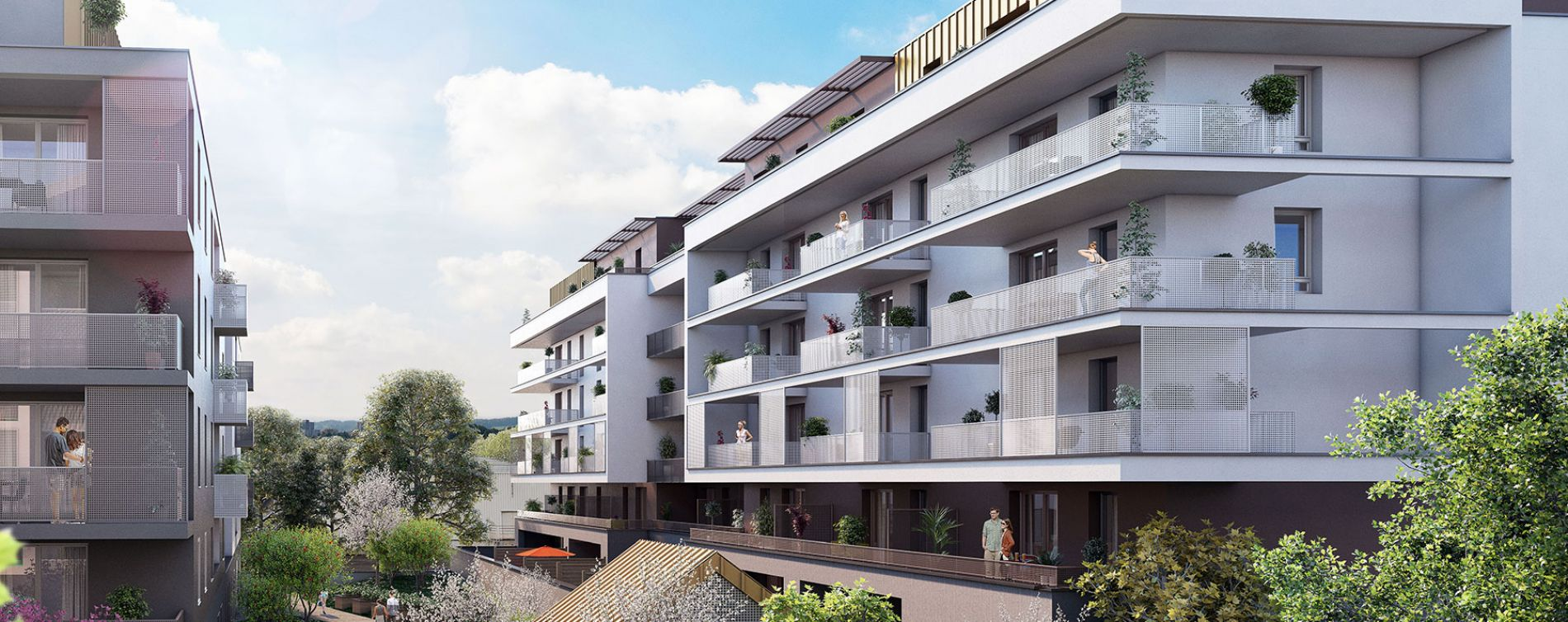 Strasbourg : programme immobilier neuve « L'Inattendu 2 » en Loi Pinel (5)