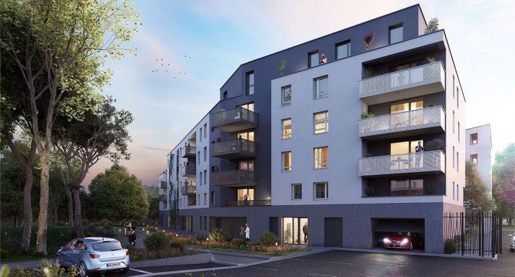 Strasbourg : programme immobilier neuf « L'Inattendu 2 » en Loi Pinel