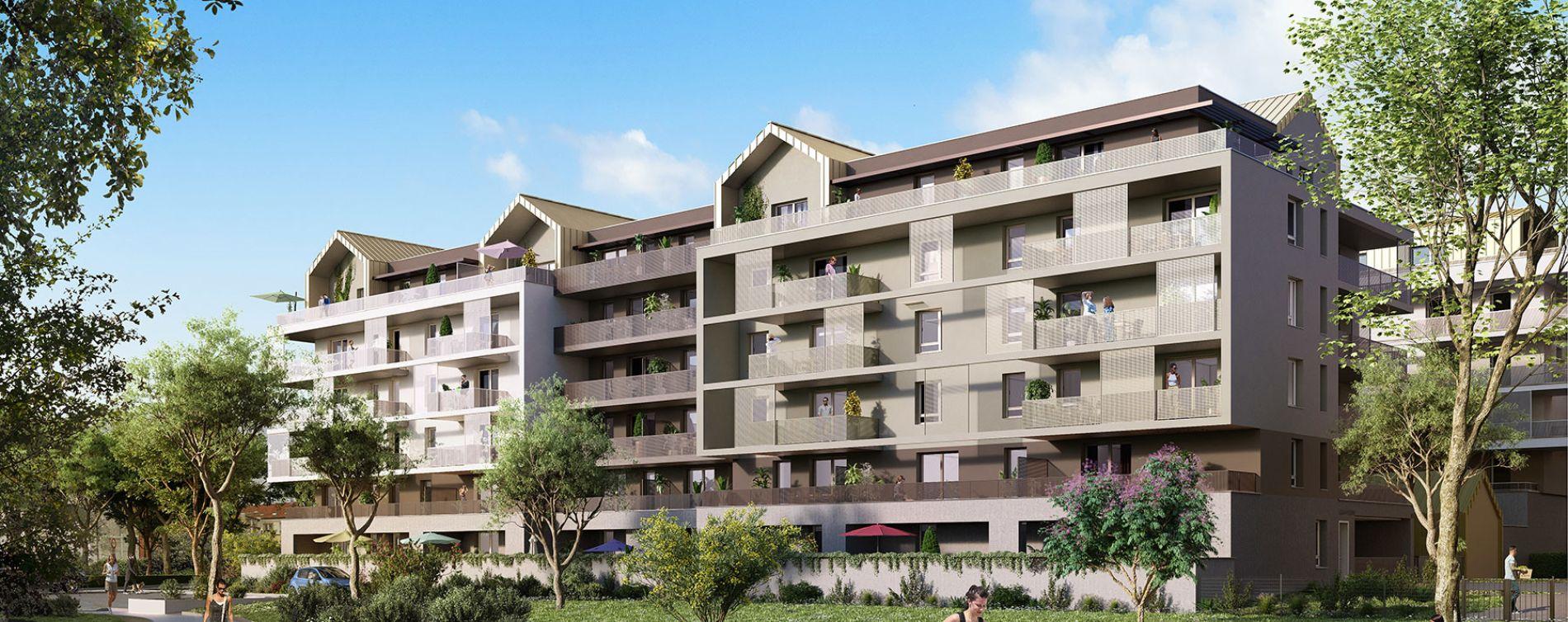 Strasbourg : programme immobilier neuve « L'Inattendu » en Loi Pinel