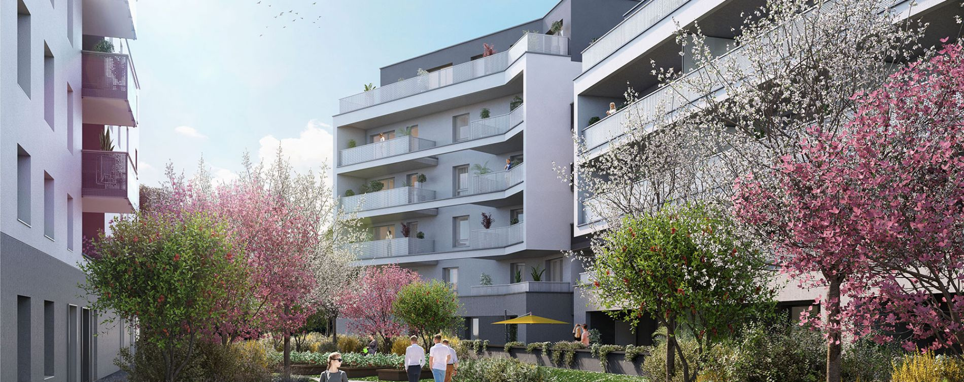 Strasbourg : programme immobilier neuve « L'Inattendu » en Loi Pinel (3)