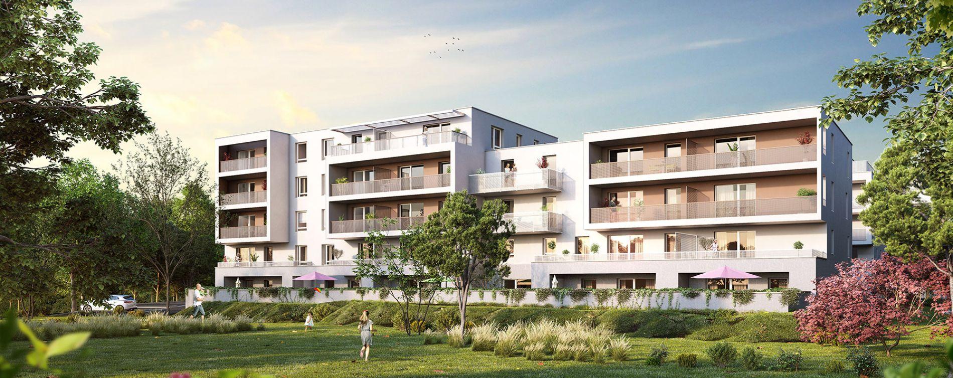 Strasbourg : programme immobilier neuve « L'Inattendu » en Loi Pinel (4)