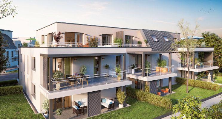 Résidence « Perlines » programme immobilier neuf en Loi Pinel à Strasbourg n°3