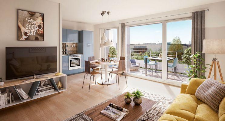 Résidence « Perlines » programme immobilier neuf en Loi Pinel à Strasbourg n°4