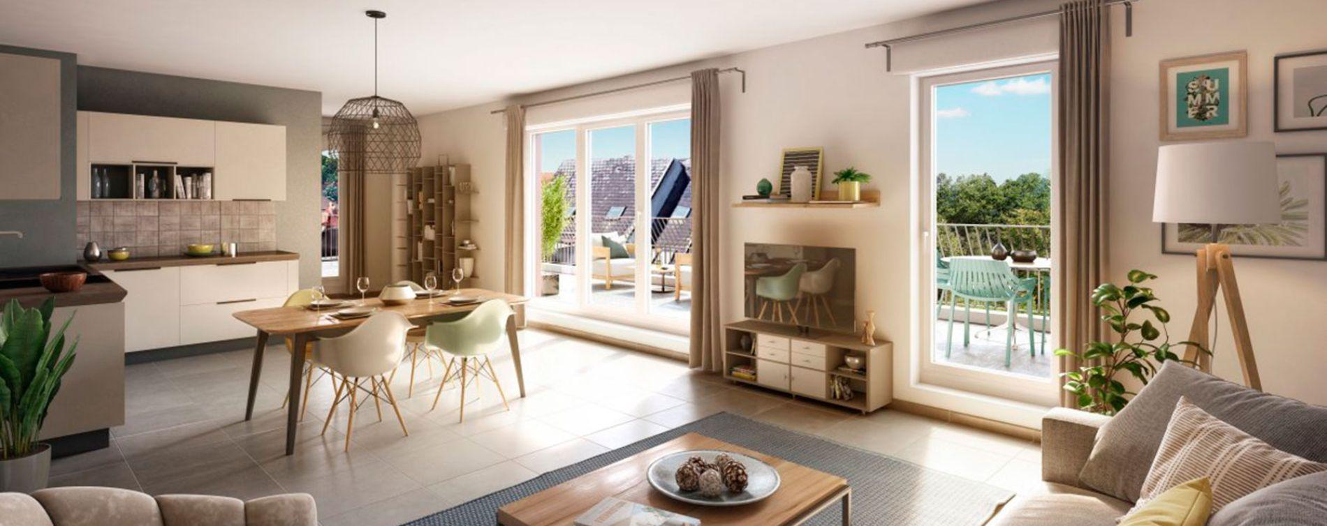 Strasbourg : programme immobilier neuve « Pop ! » (4)