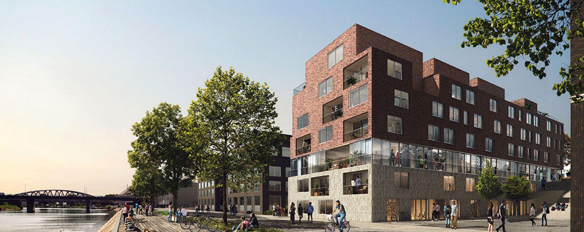 Strasbourg : programme immobilier neuve « Quai Ouest »