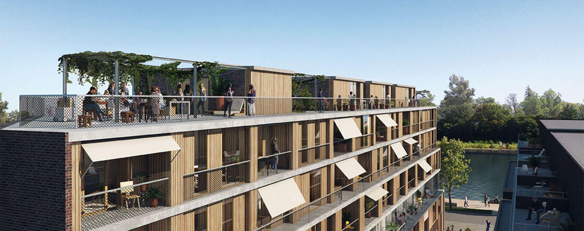 Strasbourg : programme immobilier neuve « Quai Ouest » (2)