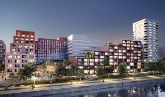 Strasbourg programme immobilier neuve « Quai Starlette II » en Loi Pinel  (4)