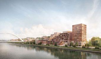 Strasbourg programme immobilier neuve « Quai Starlette II » en Loi Pinel  (2)