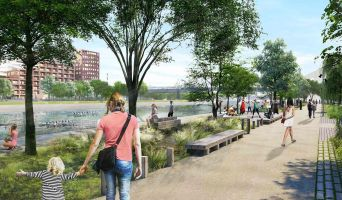 Strasbourg programme immobilier neuve « Quai Starlette II » en Loi Pinel  (3)