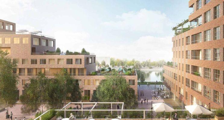 Strasbourg : programme immobilier neuf « Quai Starlette II » en Loi Pinel