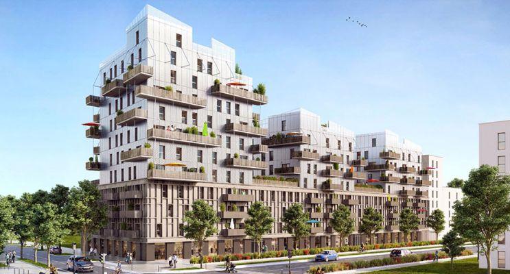 Résidence « Sensations » programme immobilier neuf en Loi Pinel à Strasbourg n°1
