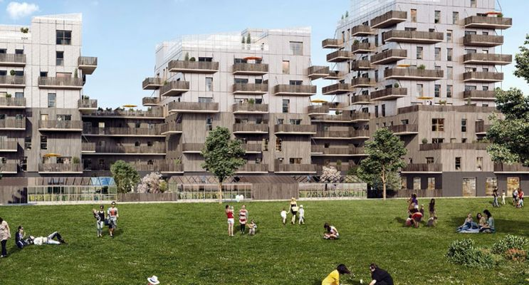 Résidence « Sensations » programme immobilier neuf en Loi Pinel à Strasbourg n°2