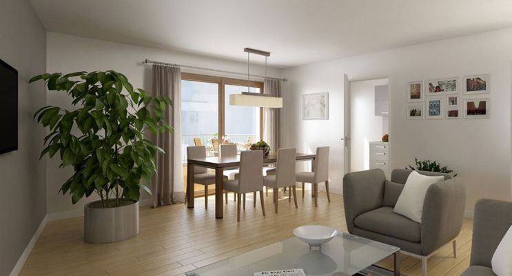 Résidence « Sensations » programme immobilier neuf en Loi Pinel à Strasbourg n°3