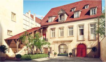 Colmar : programme immobilier à rénover « Cour Saint-Nicolas » en Loi Malraux