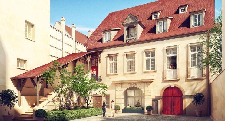 Photo du Résidence « Cour Saint-Nicolas » programme immobilier à rénover en Loi Malraux à Colmar