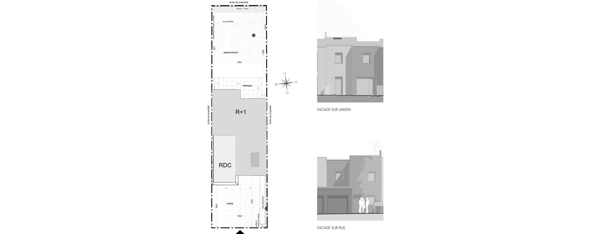 Maison T3 de 70,70 m2 à Colmar Saint-vincent de paul