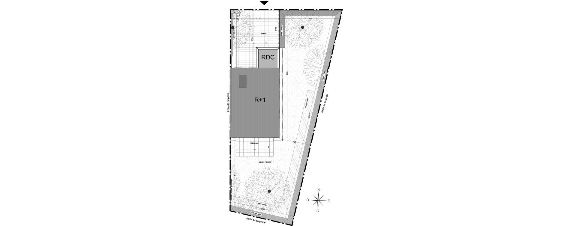Maison T4 de 86,87 m2 à Colmar Saint-vincent de paul