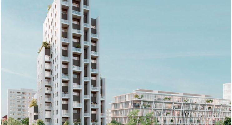 Huningue : programme immobilier neuf «  n°216884 » en Loi Pinel