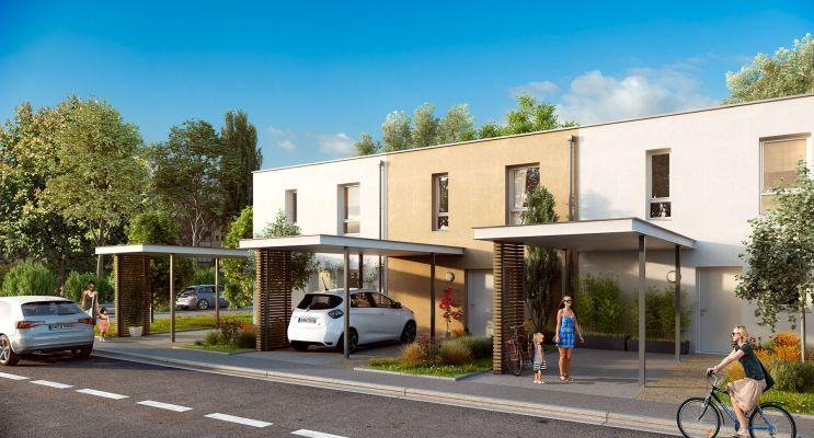 Photo n°1 du Résidence « Les Moulins Du Quatel » programme immobilier neuf à Illzach