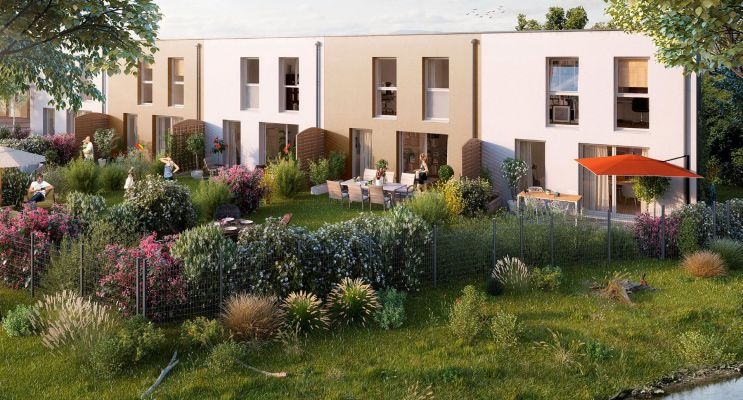 Photo n°2 du Résidence « Les Moulins Du Quatel » programme immobilier neuf à Illzach