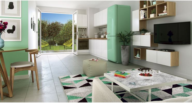Photo n°3 du Résidence « Les Moulins Du Quatel » programme immobilier neuf à Illzach