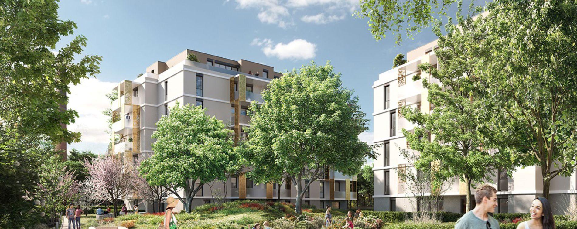 Mulhouse : programme immobilier neuve « Le Parc Lavoisier » en Loi Pinel