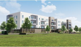 Mulhouse programme immobilier neuf « Square 112 » en Loi Pinel