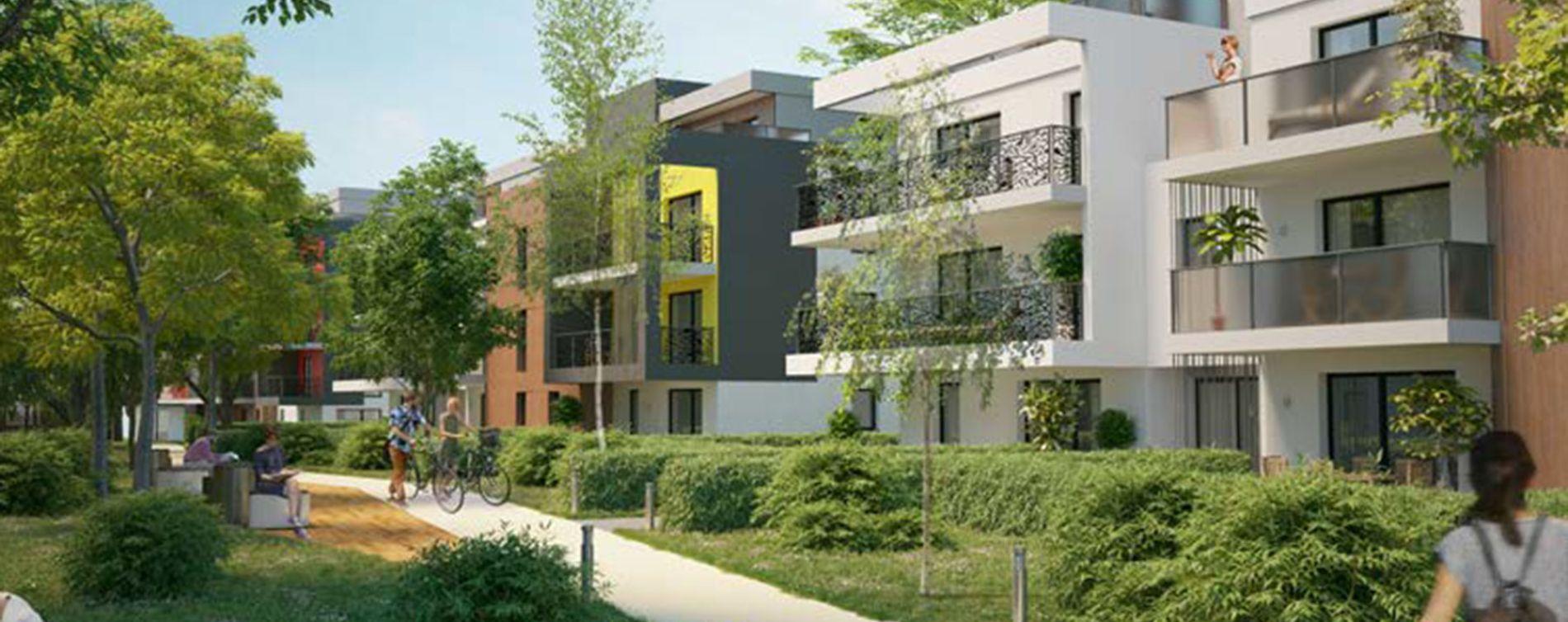 Saint-Louis : programme immobilier neuve « L'Absolu - Bât. D et E »