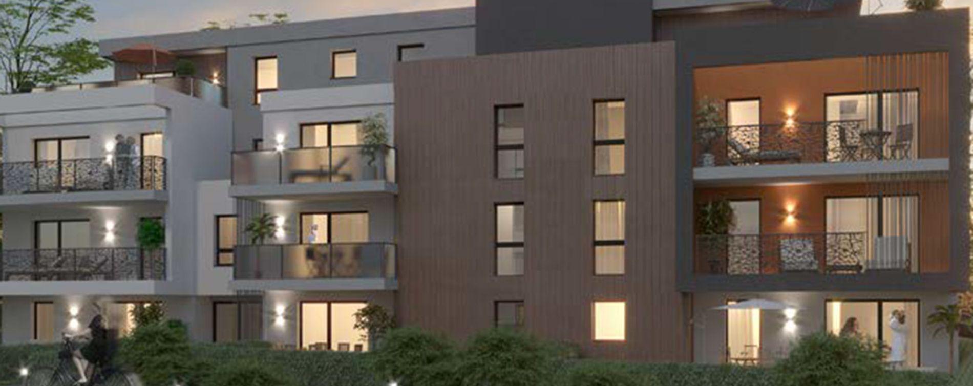 Saint-Louis : programme immobilier neuve « L'Absolu - Bât. D et E » (2)