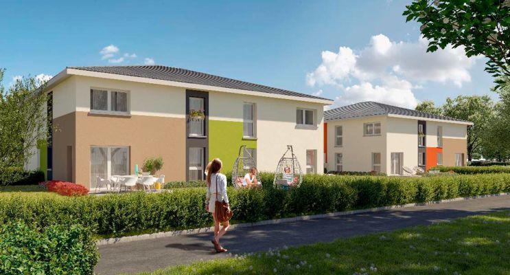 Photo du Résidence « Les Carrés Théobald » programme immobilier neuf à Thann