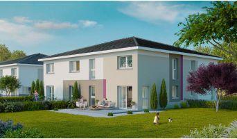 Photo du Résidence « Les Carrés Kali » programme immobilier neuf à Wittenheim