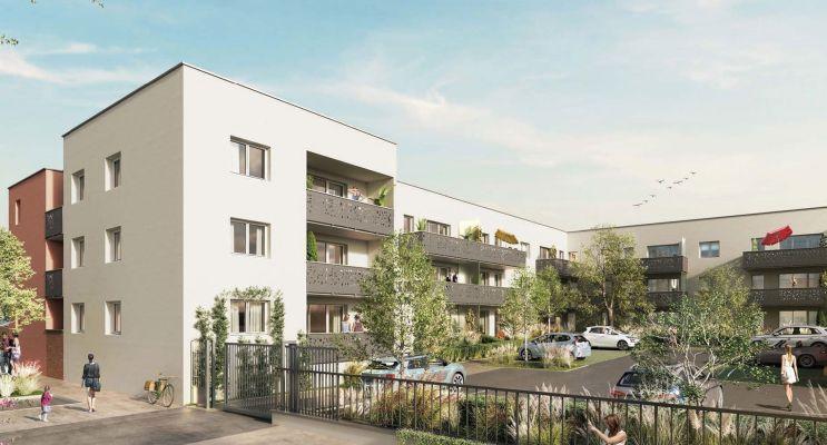 Bezannes programme immobilier neuf « BeZen » en Loi Pinel
