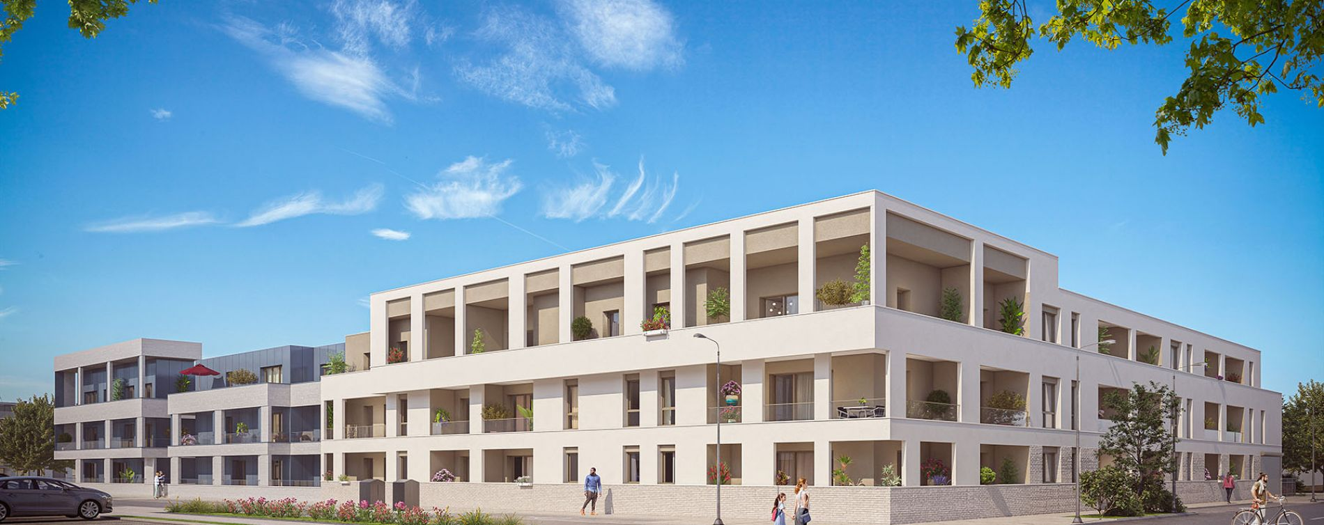 Bezannes : programme immobilier neuve « Inspireo » en Loi Pinel