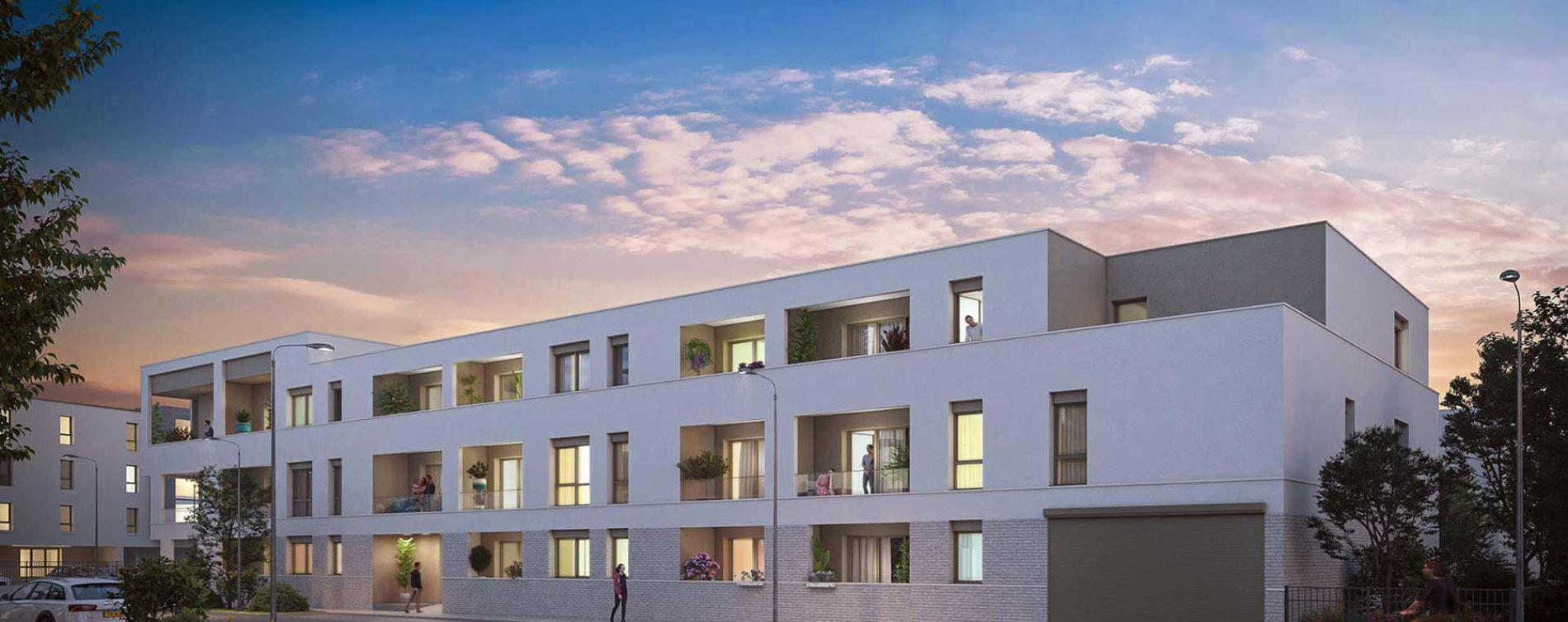 Bezannes : programme immobilier neuve « Inspireo » en Loi Pinel (2)