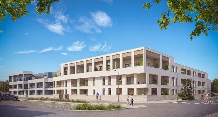 Bezannes : programme immobilier neuf « Inspireo » en Loi Pinel