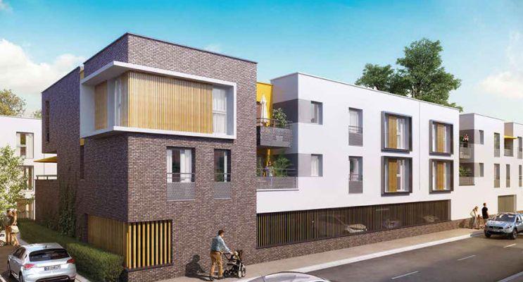 Résidence « Zenéo » programme immobilier neuf en Loi Pinel à Bezannes n°1