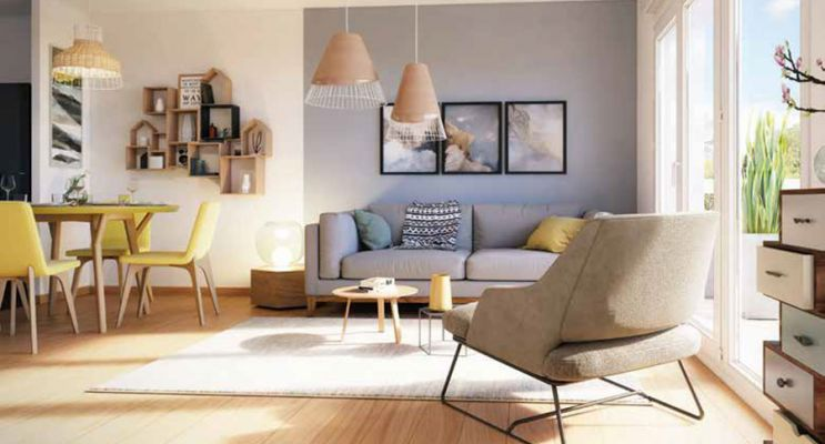 Résidence « Zenéo » programme immobilier neuf en Loi Pinel à Bezannes n°3