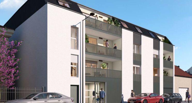 Reims programme immobilier neuf « 290 Cernay » en Loi Pinel