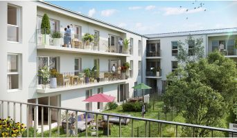 Reims programme immobilier neuf « Alfred &Jules » en Loi Pinel