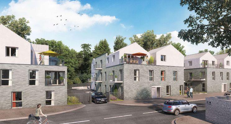 Résidence « Ecotopia » programme immobilier neuf en Loi Pinel à Reims n°1