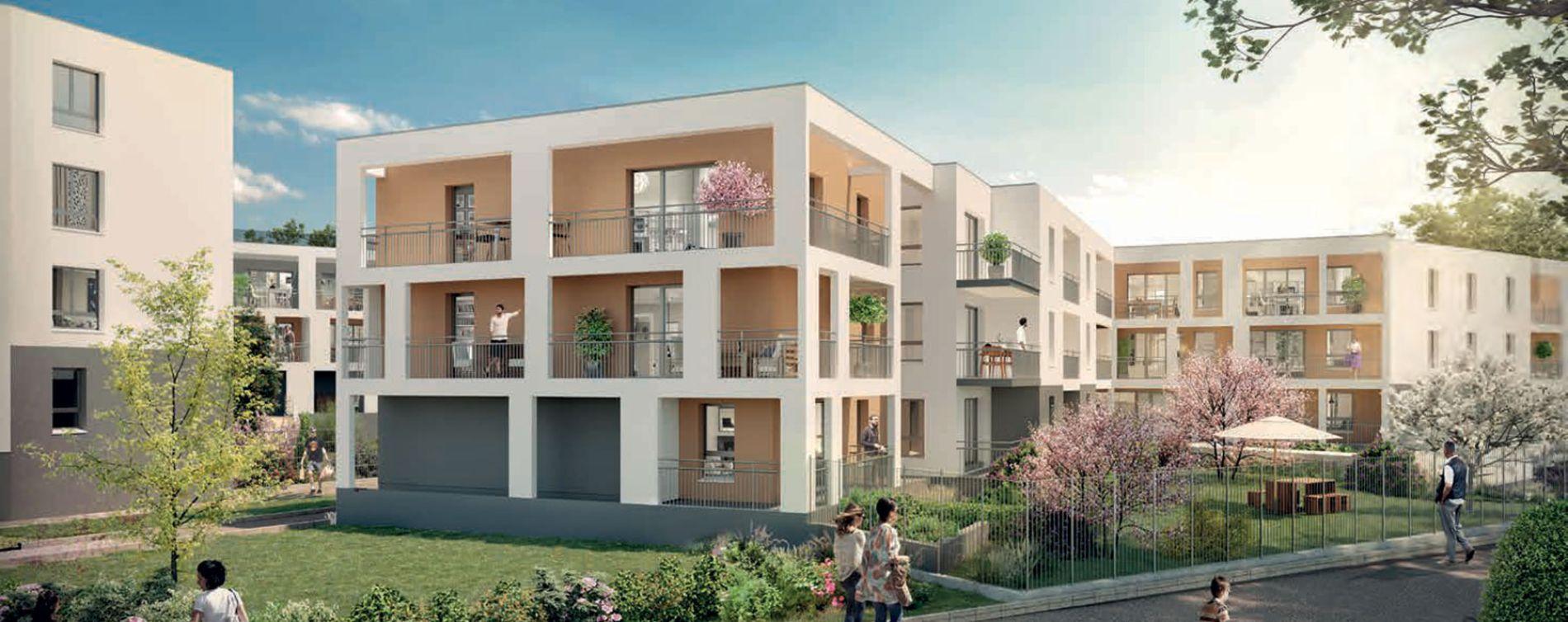 Reims programme immobilier neuve « Emergence » en Loi Pinel