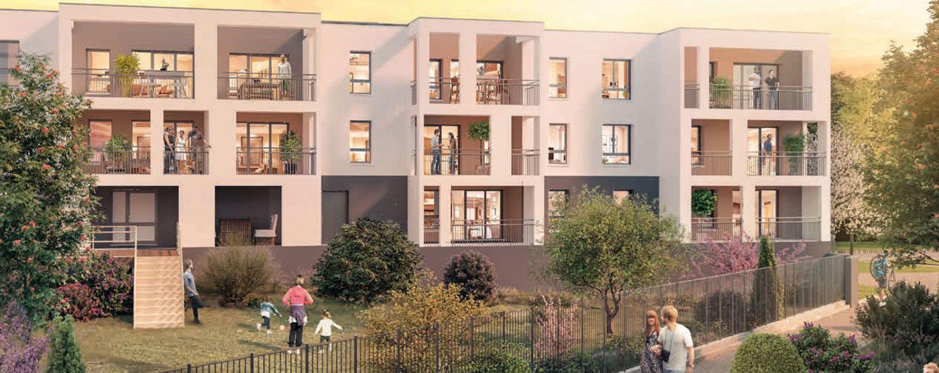 Reims programme immobilier neuve « Emergence » en Loi Pinel  (2)